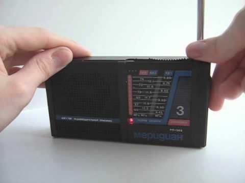 Видеосюжео о радиоприемнике