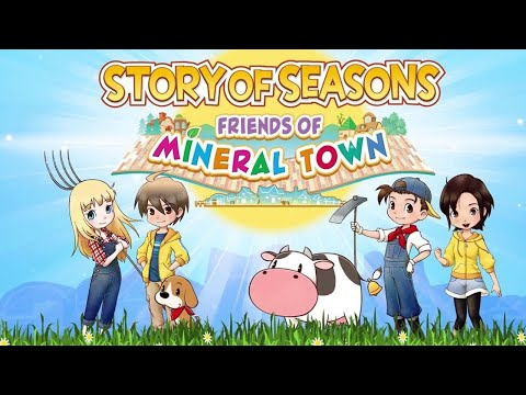 Gameplay de Story of Seasons Friends of Mineral Town