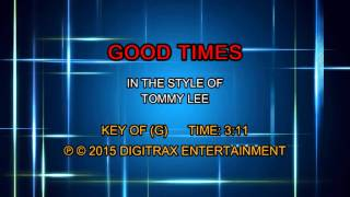 Tommy Lee - Good Times (Backing Track)