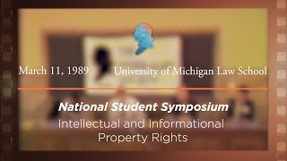 Click to play: Panel IV: Intellectual and Informational Property Rights [Archive Collection]