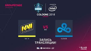 Na`Vi vs Cloud9 - ESL One Cologne 2018 - map2 - de_overpass [Enkanis, yXo]