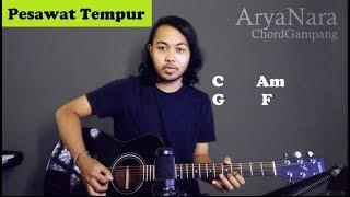 Chord Gampang (Pesawat Tempur - Iwan Fals) By Arya Nara (Tutorial Gitar) Untuk Pemula