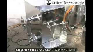 UT Volumetric Liquid Filling Machine