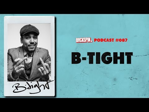 "B-Tight über ""Aggroswing"", die 20er-Jahre, Familie und Newcomer (BACKSPIN Podcast #087)"