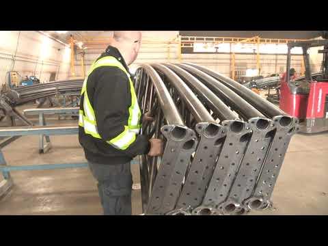 Virtual tour of Britespan's manufacturing facility