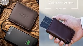 7 Amazing Smart Wallets With Wifi Hotsopt, Wireless Charger,Solar Power, GPS Tracking & Many More