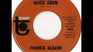 Frankie Albano - She'll Never Know