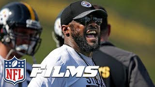 Head Coaches Mic'd Up During 2017 Training Camp   NFL Films Presents