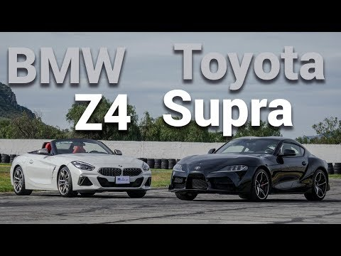 Toyota Supra vs BMW Z4