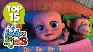 Ten in a Bed - TOP 15 Songs for Kids on YouTube