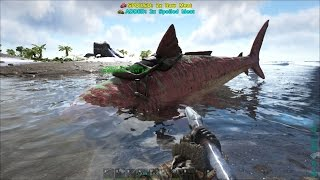 ARK: Survival Evolved #38 - Bắt được Cá mập Megalodon, Nó bị mắc cạn =))