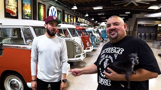 "We met Gabriel ""Fluffy"" Iglesias and his EPIC GARAGE!!!"