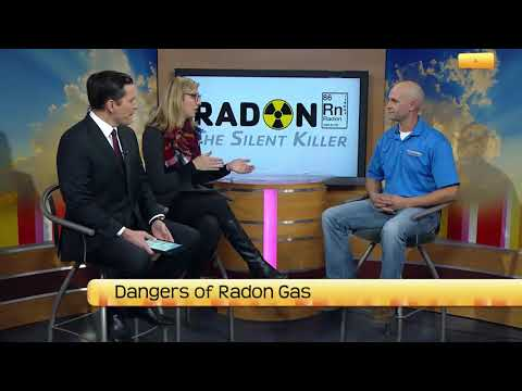 Chad Matthews of Innovative Basement Systems, visits the set of North Dakota Today to discuss radon gas...