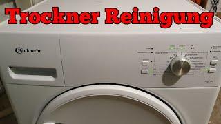 wärmepumpentrockner Reinigung mit hindernissen
