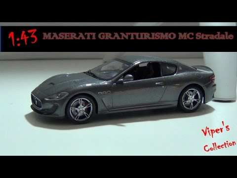VOITURE MASERATI Gran Turismo MC STRADALE 1/43 EME