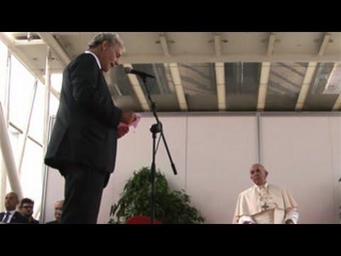 Papa Francesco alla Fiera di Roma