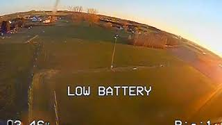 Sunny evening FPV flight with Diatone Cube