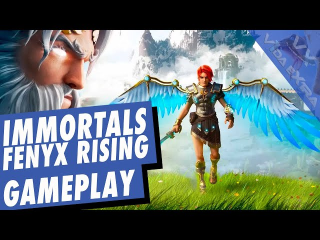IMMORTALS FENYX RISING - La primera media hora del juego en español