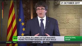 'Worst attacks' since Franco's dictatorship – Catalan leader on Madrid's steps toward direct rule
