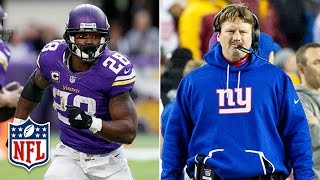 Would Adrian Peterson be a Good Fit with the Giants? | NFL | DDFP