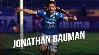 Gol Spektakuler Jonathan Bauman Kukuhkan Kemenangan Persib dari Borneo FC