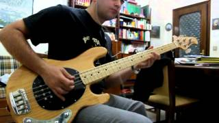 Anouk - The Dark (live) bass cover by Attorianzo