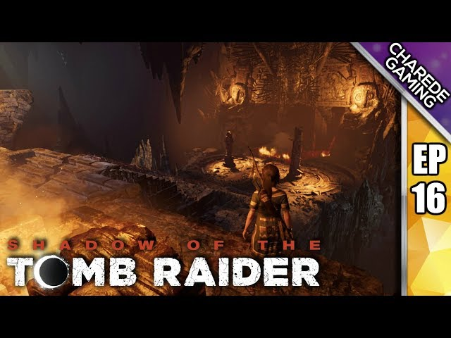 Queen Unuratu: The Heron & Eclipse | Shadow Of The Tomb Raider Ep 16 | Charede Plays