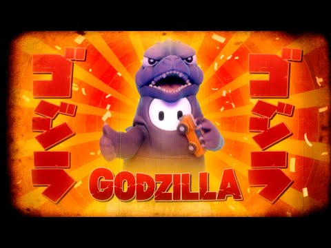 Gameplay pour le costume Godzilla de Fall Guys: Ultimate Knockout