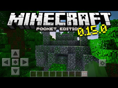 Jungle Temples & New Mobs in Minecraft PE 0.15.0 - MCPE 0.15.0 Update News (Pocket Edition)