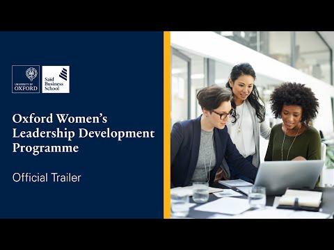 Oxford Women's Leadership Development Programme | Trailer