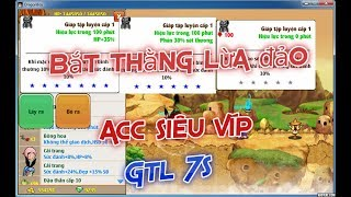 Ngọc Rồng Online - Bắt thanh niên lừa đảo acc siêu víp glt 5s, 6s,7s sv2, Trả acc cho chủ cũ
