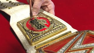 The WWE Women's Title gets personalized like a Boss: Aug. 8, 2016