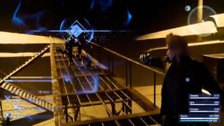 Gameplay stealth e combattimenti - Base di Niflheim