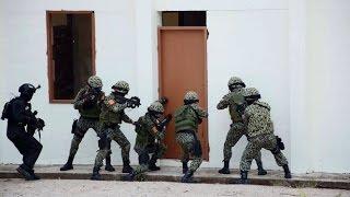 Đặc công Việt Nam diễn tập chống khủng bố tại Singapore | Diễn tập ADMM+