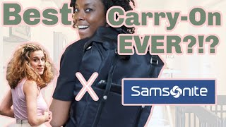 Samsonite X Sarah Jessica Parker: Carried Away Convertible Review - Is This The Best Carry-On??