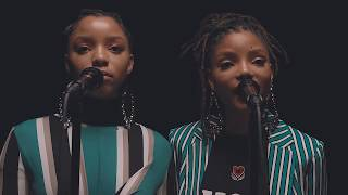 Chloe X Halle   Cool People   Official Music Video (Live)
