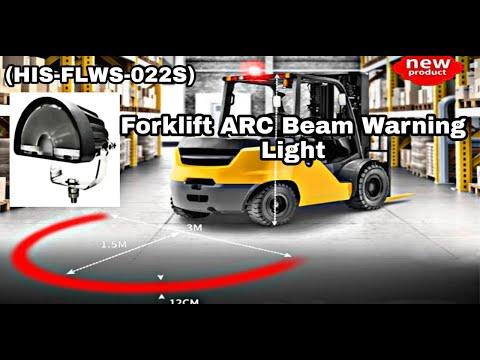 ARC Type Forklift Safety Light