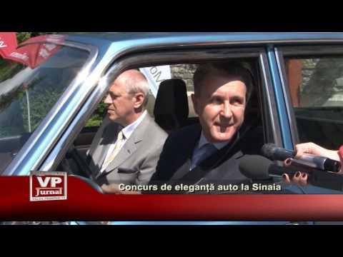 Concurs de eleganță auto la Sinaia