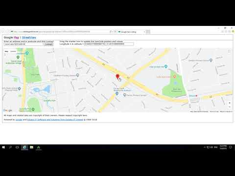 Adding geocodes to a property in PCHomes