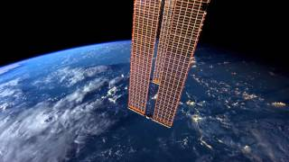 ISS: the world outside window