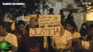 preview picture of video 'Capitán Bermúdez: ¡Any Rivero presente! Marcha a un mes de su muerte'