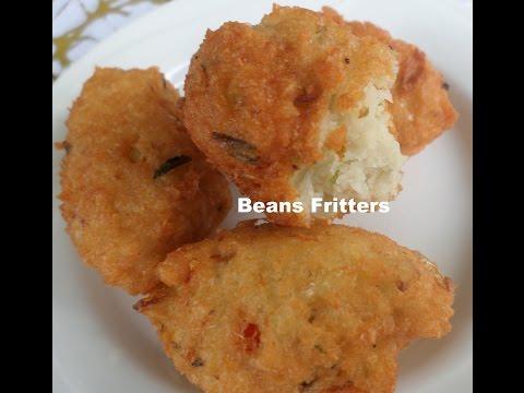 Beans fritters Recipe – Kadirecipes