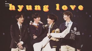 hyung love | bangtan's hyung line pt.2