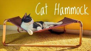 Cat  Bed Hammok - Diy (English Subtitles)