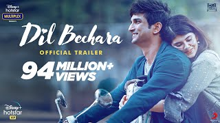 Dil Bechara | Official Trailer | Sushant Singh Rajput | Sanjana Sanghi | Mukesh Chhabra | AR Rahman - Download this Video in MP3, M4A, WEBM, MP4, 3GP