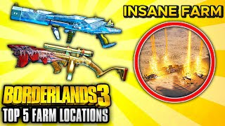 Borderlands 3 - Top 5 BEST Legendary Weapon Farming Locations AFTER PATCH!