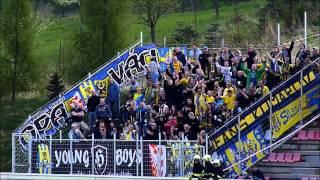 preview picture of video 'HS Kroměříž 3:1 SFC Opava 12.4.2014 doping opavských fanoušků'
