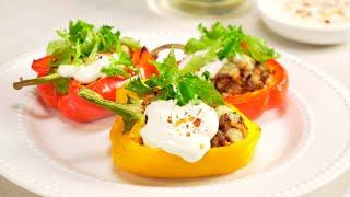 ФАРШИРОВАННЫЕ ПЕРЦЫ за 30 минут! Итальянский рецепт от Всегда Вкусно!