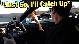 Mk4 SUPRA PLAYS WITH SUPERCARS BEFORE GAPPING THEM!!!