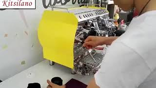 Coffee machine KC serial youtube video